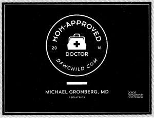 Michael Gronberg, MD 2016 Award